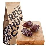 Reishunger Medjool Datteln, höchste Qualität, unbehandelt, 600 g Vorteilspackung (4x150g)