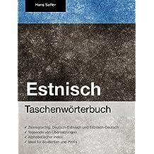 Taschenwörterbuch Estnisch