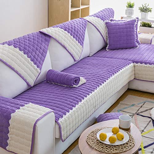 Q&F Sofabezug Anti-Rutsch Sofabezug Universal Vier Jahreszeiten Möbel Protector Für 1 2 3 4 Sofa...
