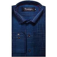 The Standard Men's Cotton Party Wear Shirt, 38(SKU0130, Firoz)