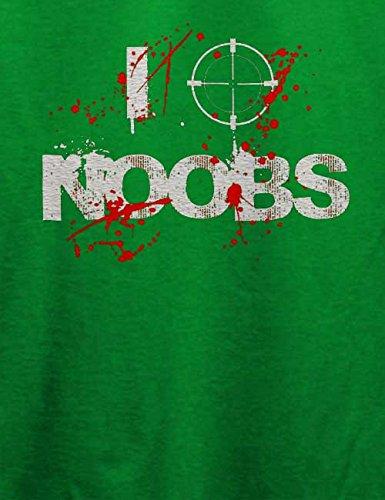 I Shoot Noobs T-Shirt Grün