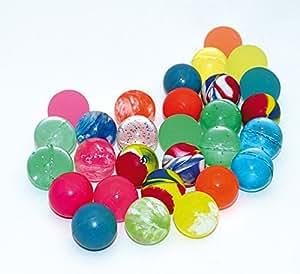 KSS 50 x Flummis Flummi Bunt gemischt 20 mm Mitgebsel Tombola Springball Hüpfball