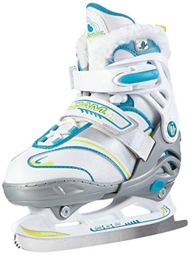 Nijdam Kinder Eiskunstlaufschlittschuhe Junior Kunstlaufskates größenverstellbar