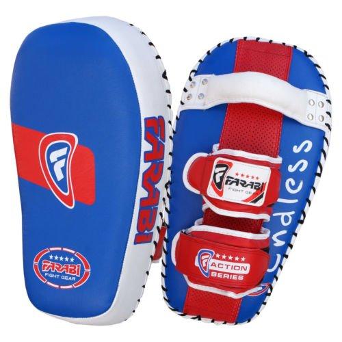 Farabi tailandés Pad Kick Escudo MMA Kickboxing Muay Thai Training Pad Brazo Huelga Escudo (Sola Unidad)