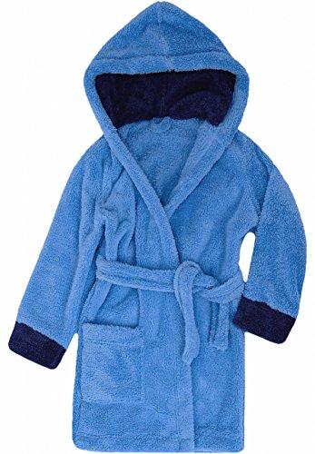 Blauer Kinder Bademantel (Timone Kinder Bademantel Kids (Blau/Navyblau (652/616), 110-116))
