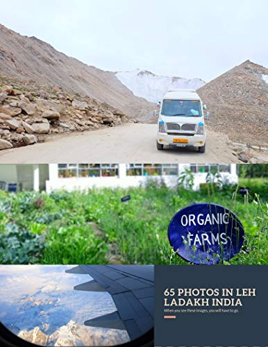 65 PHOTOS IN LEH LADAKH INDIA 2018: My trip in 2018 at Leh Ladakh (Volume Book 2) (English Edition)