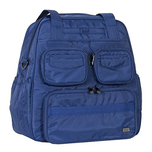 lug-womens-puddle-jumper-overnight-infinity-gym-bag-cobalt-blue-one-size