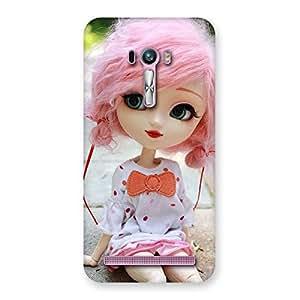 Enticing Pink Doll Back Case Cover for Zenfone Selfie