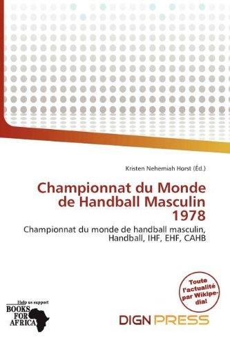 Championnat Du Monde de Handball Masculin 1978