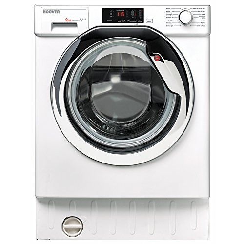 Hoover HBWM914DC-80 A+++ 9Kg 1400 Spin Fully Integrated Washing Machine Best Price and Cheapest