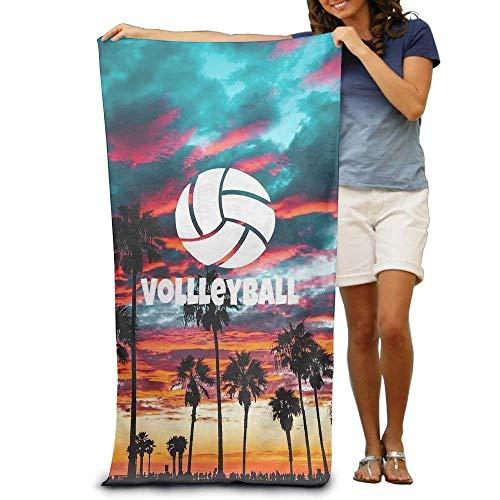 """Strandtücher Handtücher Super Absorbent Beach Towel Volleyball Palm Polyester Velvet Beach Towels 31"""" X 51"""" Inch"""