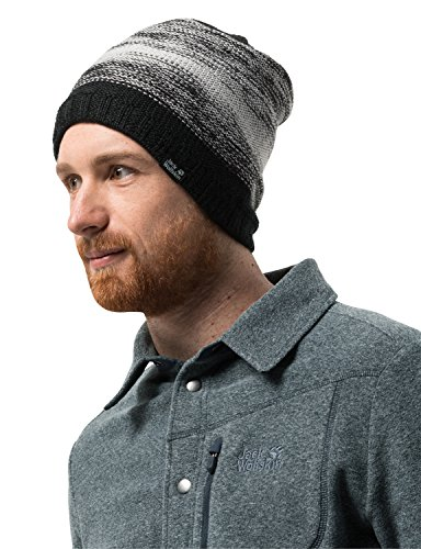 Jack Wolfskin Mütze Color Float Knit M Schwarz