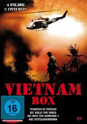 Vietnam Box [4 Filme auf 2 DVDs] (Kriegsfilme Auf Dvd)
