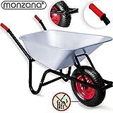 Monzana® Schubkarre 100 LITER ✔ Transportwagen Gerätewagen Gartenkarre ✔ bis