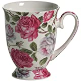 Maxwell Williams Maxwell & Williams Royal Old England S569462 Cup with Tea Rose Design Oval Packaged in Gift Box