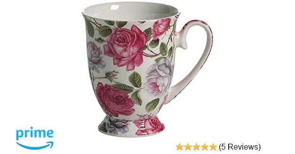 Maxwell /& Williams Porzellan Becher Oval Kaffee Tee Tasse Wicke 300 ml