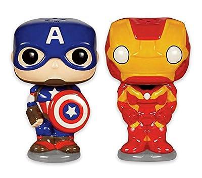 """Salière et Poivrière Marvel Pop! """"Avengers"""""""