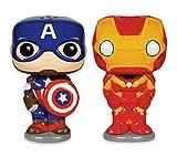 Marvel Pop. Avengers–Salero y pimentero de cerámica, de Funko