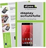 dipos I 2X Schutzfolie matt passend für Elephone P8 Max Folie Bildschirmschutzfolie