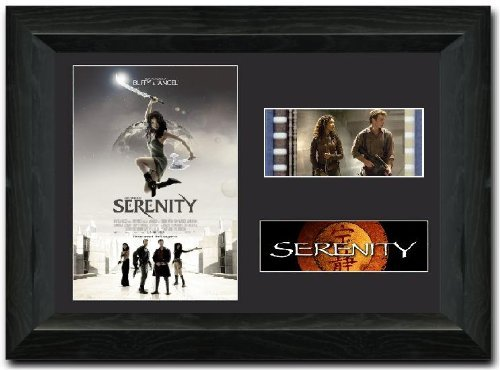 (Serenity 35 mm Film Cell, gerahmt Display Atemberaubende Collectible Firefly)
