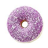 ?lilicat squishy squeeze stress reliever doux color? donut parfum? slow rising jouets simulation donut d?compression jouets slow rebound pu jouets multicolore