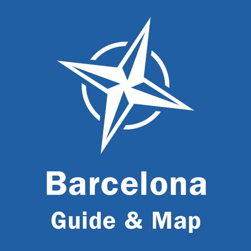 Barcelona Travel Guide & Offline Map