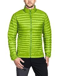 VAUDE Kabru II Men 's light Jacket Chaqueta, primavera/verano, hombre, color verde, tamaño XL