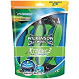 Wilkinson - Xtreme 3 Duo Comfort- Rasoirs jetables masculins - Pack de 8