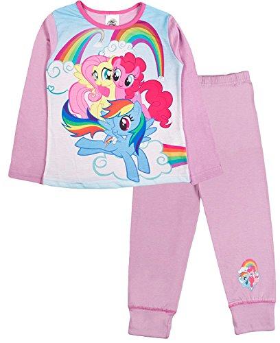 My little pony hasbro -  pigiama due pezzi - ragazza pinks/multicoloured 7-8 anni