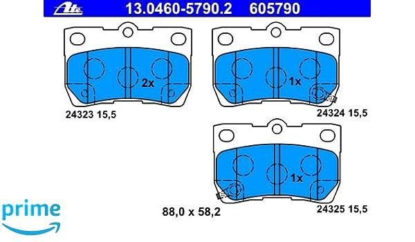 Textar 2432301 Bremsbelagsatz Scheibenbremse