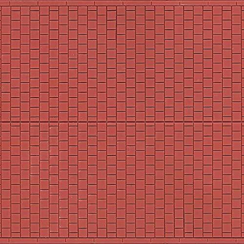 Auhagen 52.224,0 - Paneles Decorativos Camino, 10 x 20 cm Superficie de la Estructura, marrón