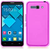 TBOC® Funda de Gel TPU Rosa para Alcatel One Touch Pop C9 7047A 7047D de Silicona Ultrafina y Flexible