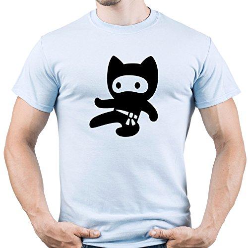 Funny Ninja Shirt Ninja Kid Tshirt Cute Ninja Tee Ninja Fan Gift Herren T-Shirt Hellblau M (Kid T-stücke Karate)