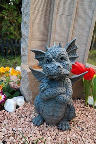 Figure de jardin Dragon bouderies Décoration