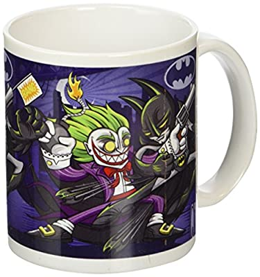 Batman Joker Bomb Tasse en céramique, multicolore