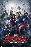 Grupo Erik GPE4916 Poster Marvel Avengers Age Of Ultron Official Cartelera, carta, Multicolore, 91 x 61,5 x 0,1 cm