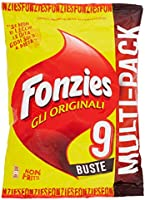 FONZIES - MULTIPACK X 9 CROCCANTINI DI MAIS AL FORMAGGIO - 211.5