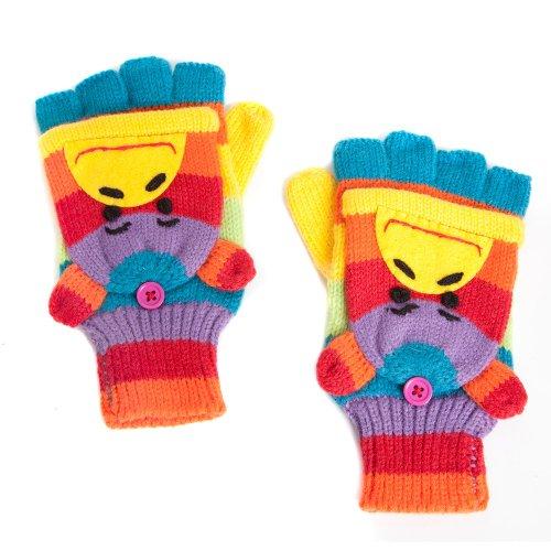 Rainbow Affe, fingerlos/Fausthandschuhe Stil Mode (Rainbow Fingerlose Handschuhe)