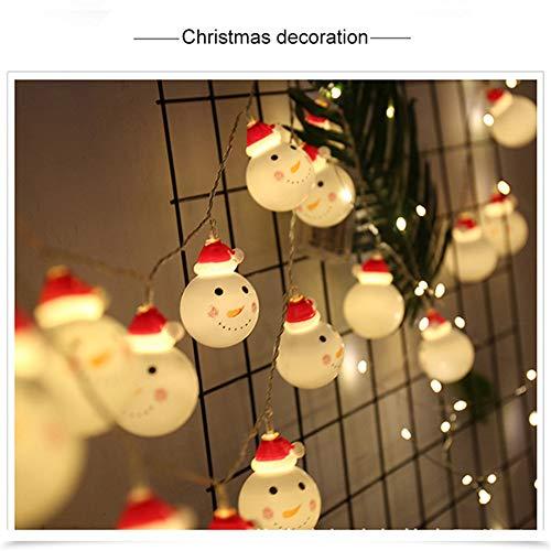Père Noël Éclairage Corde Corde Vacances De Noël Vacances Décoration Décoration À Piles Usb Chambre À Coucher Des Enfants En Plein Air Émotionnelle Fairy Lights