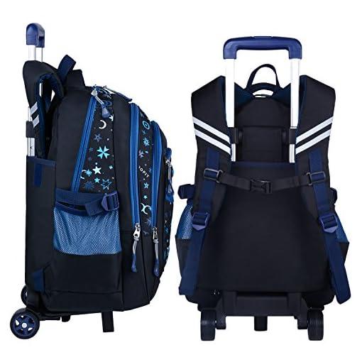 8d58792509f1 COOFIT Kids Backpack Trolley Bag Boys Girls School Bag Children s ...