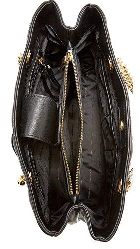 Borse a Spalla Michael Kors scarlett lg Donna - Pelle (30S7GETT3L) Nero (Black)