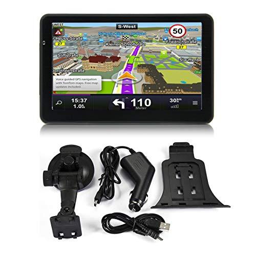 Heaviesk 710 7-Zoll-Auto-LKW-GPS-Navigation 256M + 8GB kapazitiver Bildschirm-FM-Navigator, der den Kamera-Berührungssensor genau positioniert