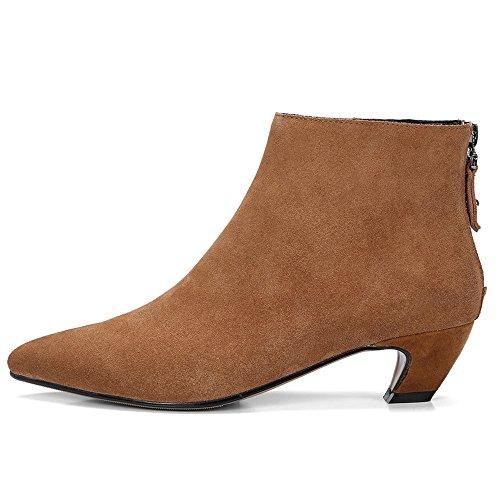 Nine Seven Stivali Alla Caviglia Donna Brown