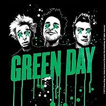 Green Day Untersetzer Drips band logo Nue offiziell 9.5cm x 9.5cm single cork
