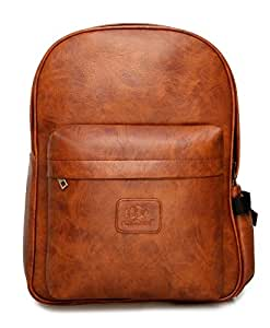 The Clownfish Elite Vxi 7 Series Brown 15.6 inch Laptop Bag Travel Backpack School Bag With One Year Brand Warranty