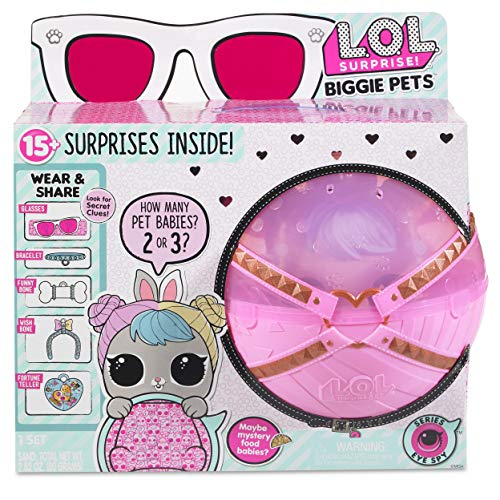 L.O.L. Surprise 552246E7C. Biggie Pets. Modelo Conejo