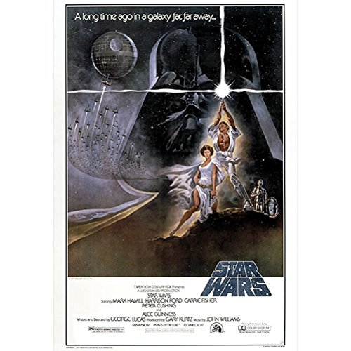 "AbyStyle - Poster - Star Wars ""Ep4 leia & Luke"" 98x68cm - 3760116319898"