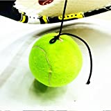 Bluelover Balle De Tennis Formation Profession Avec Une Haute Ligne Élastique Pour Débutant Tennis Exerciseur