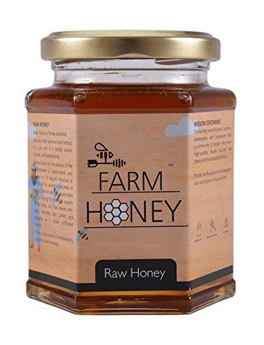 Farm Honey Raw Honey Unprocessed Honey 350 Grams