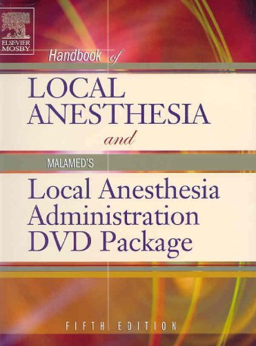 Handbook of Local Anesthesia: Text with Malamed's Local Anesthesia Administration DVD Package by Stanley F. Malamed DDS (2004-09-21)